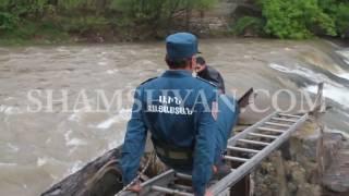 Ալավերդու փրկարարներն ու ոստիկանները, Դեբեդ գետից դուրս են բերել 17 ամյա ձկնորսին