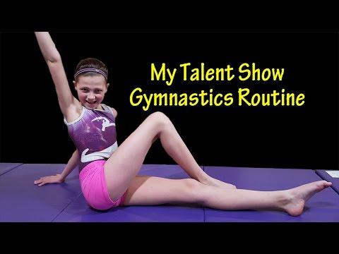 Talent Show Gymnastics Routine   Bethany G