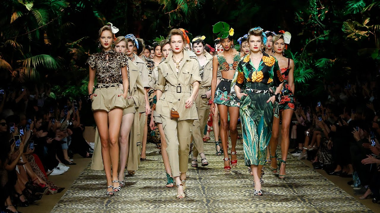 [VIDEO] - Dolce&Gabbana Spring Summer 2020 Women's Fashion Show 2