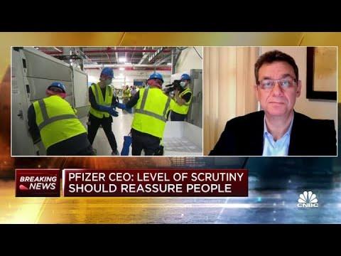 Pfizer CEO Albert Bourla On Vaccine Hesitancy: 'Trust Science'