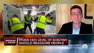 Pfizer CEO( Albert Bourla) asked if  he hadn't taken the VACCINE! Dealer aren't USERS:)