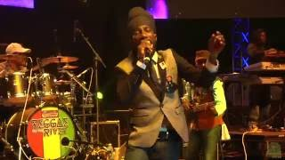 Sizzla Kalonji performing live at Reggae on the River 2016