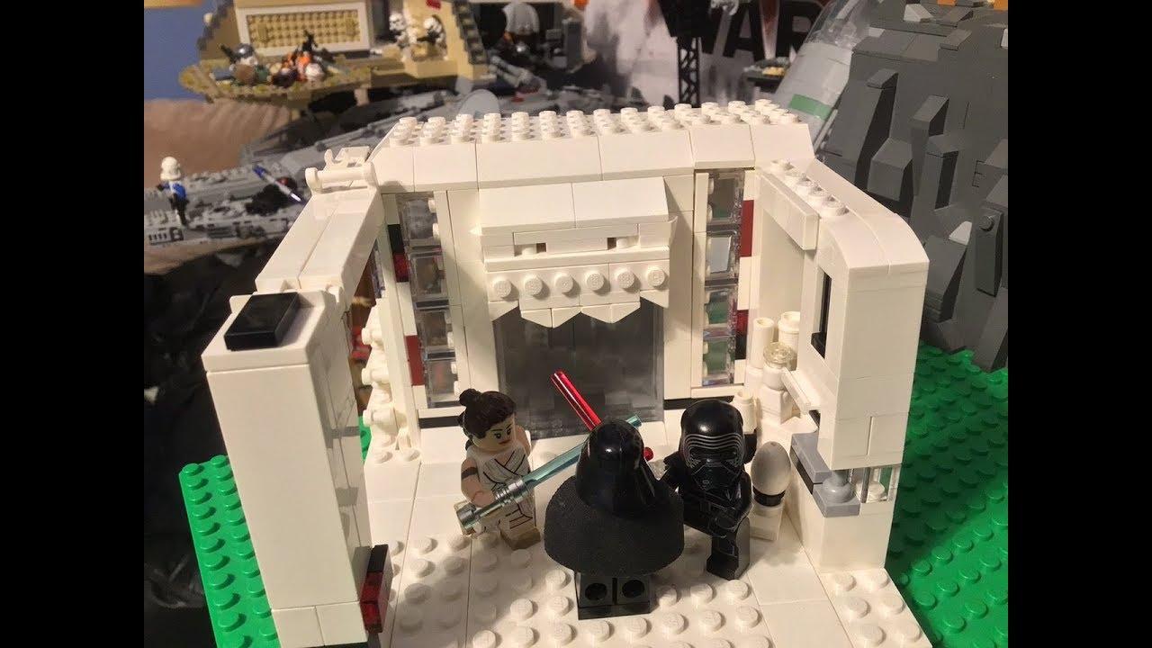 Lego Star Wars The Rise Of Skywalker Rey Vs Kylo Ren Moc Youtube