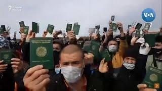 Rossiya-Qozog'iston chegarasida arosatda qolgan o'zbekistonliklar