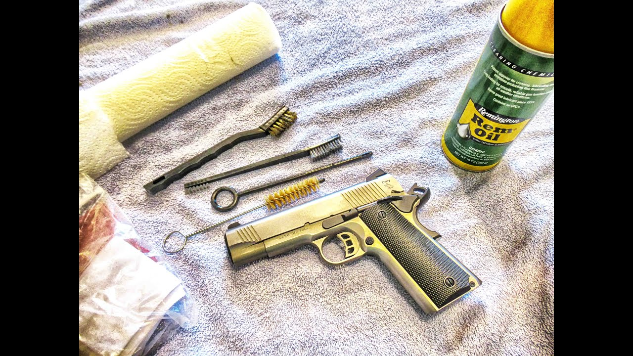 Cleaning a Tisas 1911 Pistol