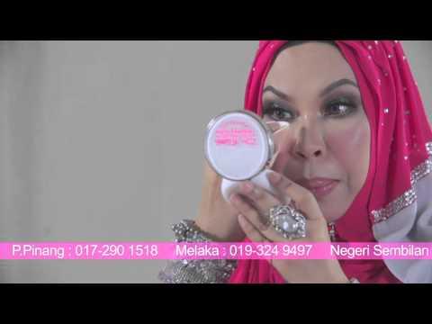 Khasiat Mineral Glow Foundation & Mineral Lipstick