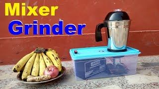 How to make Mixer grinder With 4000RPM Motor & 12v Battery