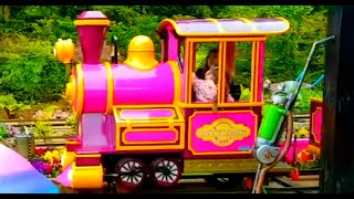Kids Ride on Train Having Fun