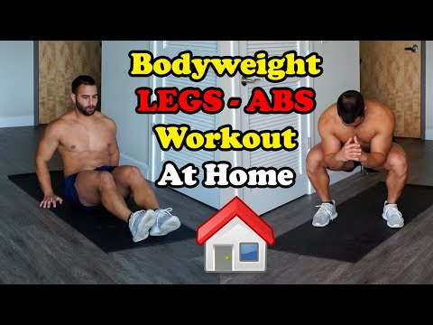 BEST BODYWEIGHT LEGS & ABS WORKOUT 🔥 AT HOMEKaynak: YouTube · Süre: 3 dakika11 saniye