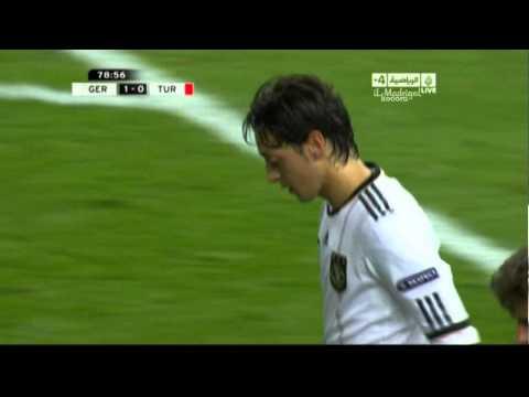 Germany 2-0 Turkey - Mesut Özil