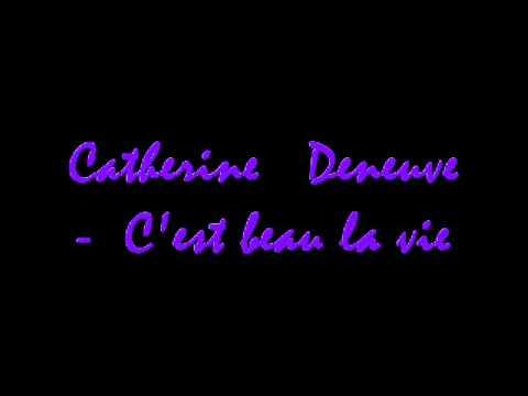 Catherine Deneuve - C'est beau la vie (Potiche BO)