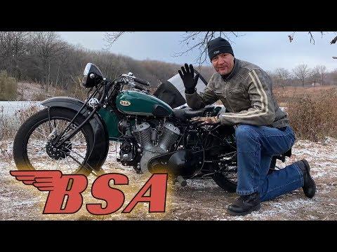 Let's Ride 1935 BSA G14