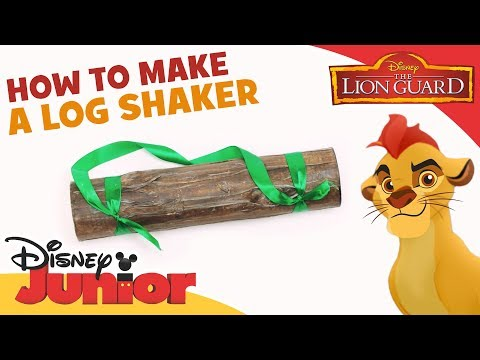 The Lion Guard | How to Make: Log Shaker | Official Disney Channel Africa