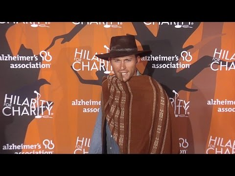 Scott Eastwood at Hilarity for Charity's 5th Annual LA Variety Show Black Carpet