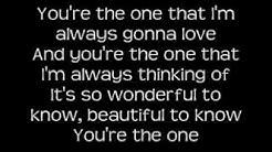 Natalie - You're The One Lyrics