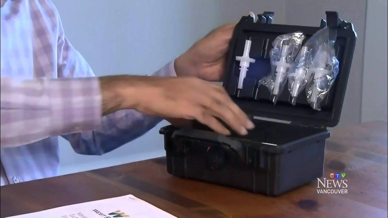 Former Mountie Develops Pot Breathalyzer - CTV News Vancouver