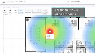 Manage and visualize your network with map,floor plans,and topology