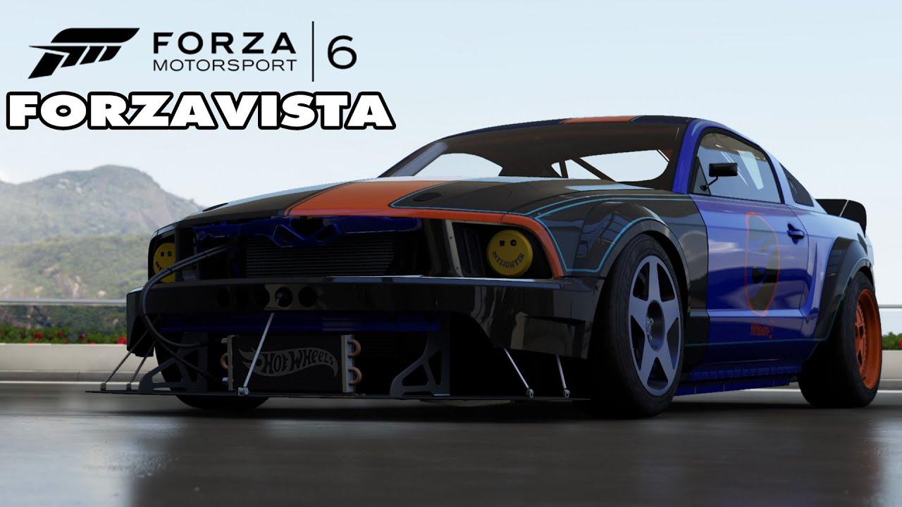 Forza motorsport 6 2005 ford hot wheels mustang forzavista gameplay