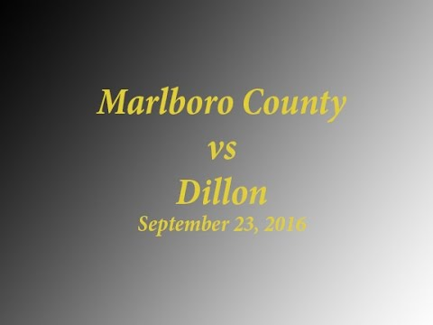 Marlboro County High vs Dillon