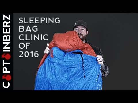 Sleeping Bag Test Clinic of 2016: Introduction