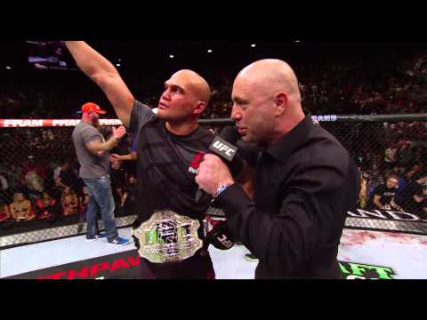 UFC 189: Robbie Lawler Octagon Interview