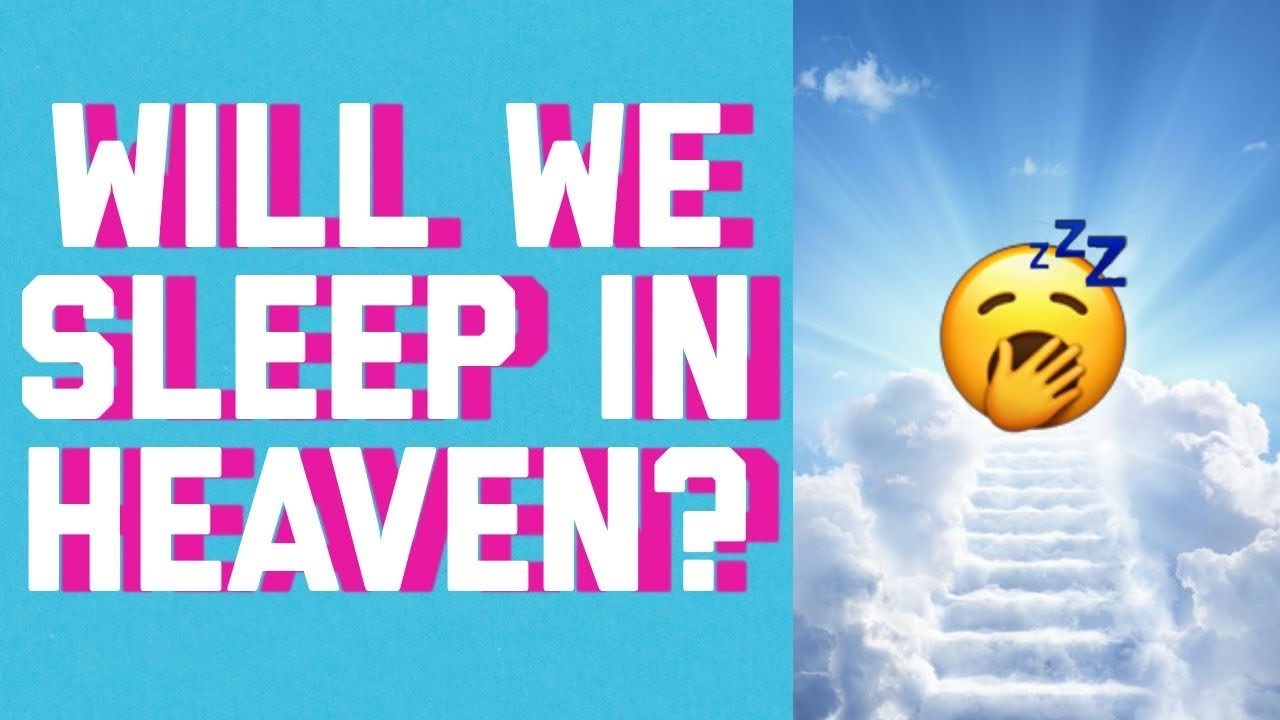 will we be SLEEPING IN HEAVEN? || answered with the ✨BIBLE✨ #shorts