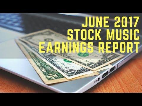 Stock Music Licensing June 2017 Earnings Report
