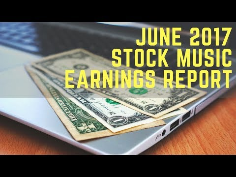 Stock Music Licensing June 2017 Earnings Report