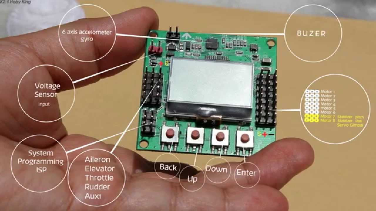 kk2 1 board diagram youtube rh youtube com RC Multicopters KK Board Programming