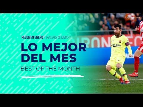 Lo mejor de enero: Así comenzó Messi el 2019