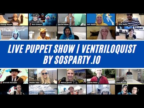 ⁣Live Puppet Show for Corporates