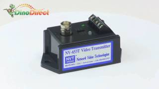 Active Video Transmitter Twisted Pair XYL-NV-653T  from Dinodirect.com