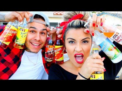 soda challenge w/ MY GIRLFRIEND!!
