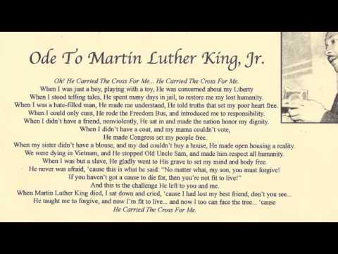 An Ode To Martin Luther King Jr. by Rev. James Luther Bevel
