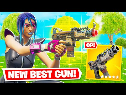 Why the *SECRET* GOLD Tactical SMG is a MUST HAVE! (Fortnite Gameplay)