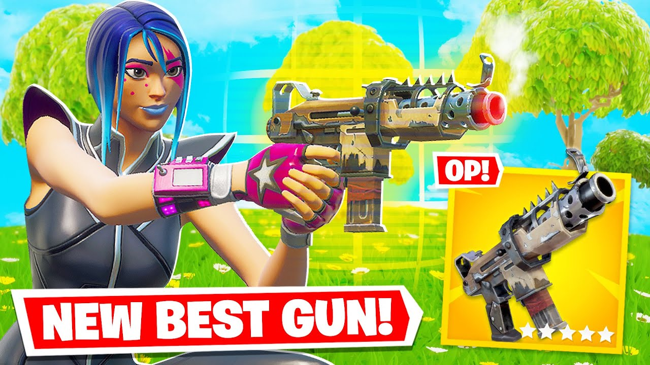 The GOLD TACTICAL SMG Shoots through Walls! (Fortnite Gameplay) thumbnail