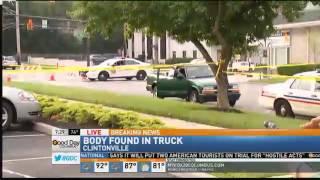 Man Found Dead in Back of Truck in Clintonville
