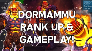 Dormammu Rank Up and Gameplay - Marvel Contest Of Champions