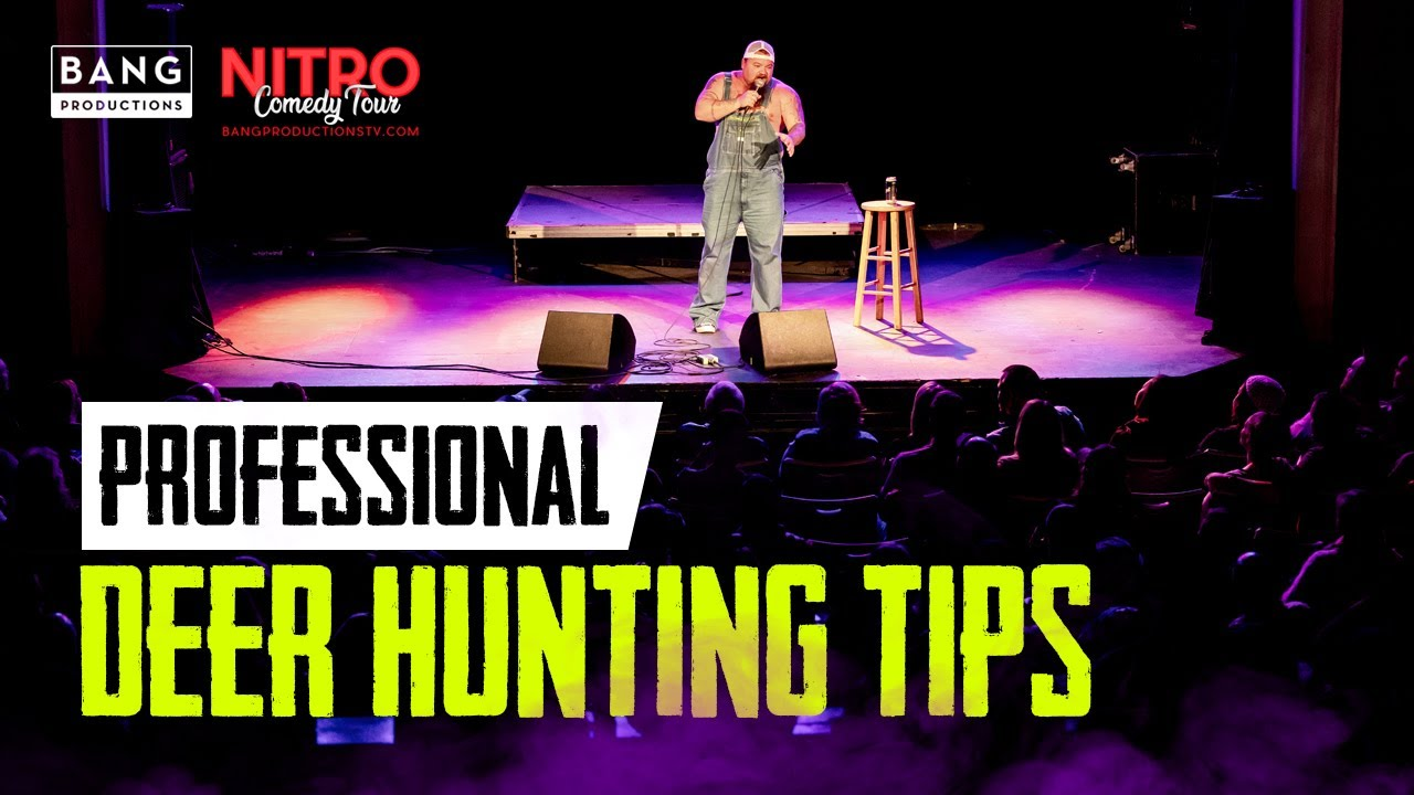 COMEDIAN CATFISH COOLEY: PROFESSIONAL DEER HUNTING TIPS - COMEDY FUNNY LAUGH