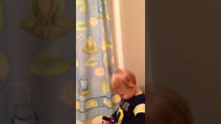 SINGING WHILE POTTY TRAINING! BEST WAY TO POTTY TRAIN YOUR BABY!