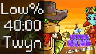 Speed Game Hors-série: SteamWorld Dig Low%
