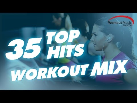 WOMS // 35 Top Hits Workout Mix (128-160 BPM)