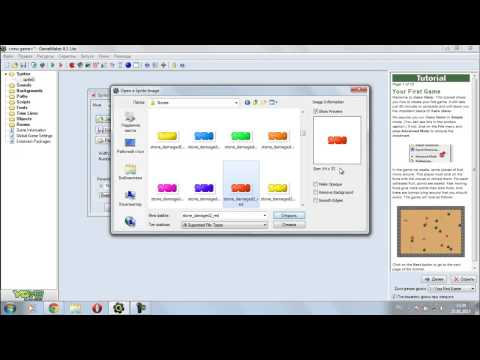Создание игр на Game Maker 8.1 #1 Обзор-Установка-Первая игра!
