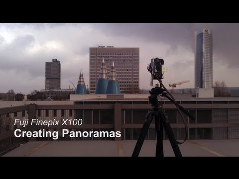 Creating great panoramas with Fuji Finepix X100