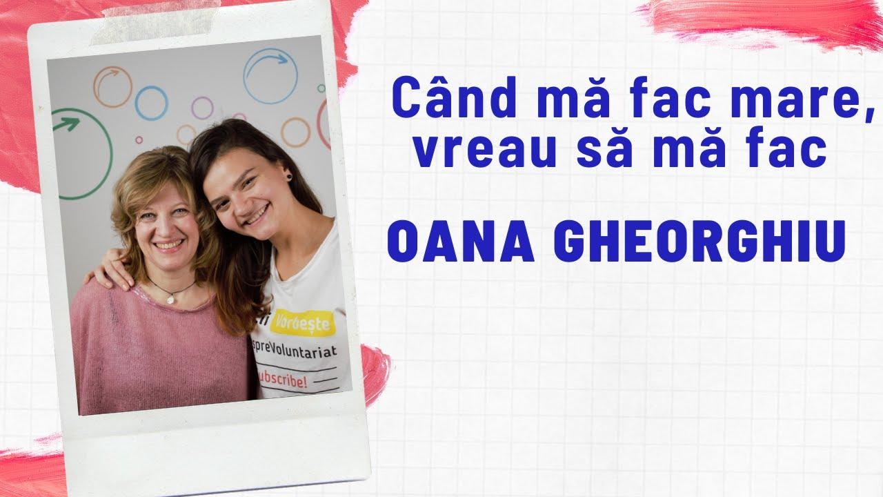 #NoiFacemUnSpital - cu Oana Gheorghiu