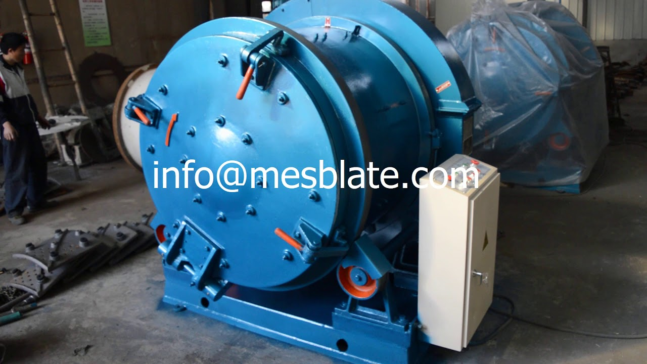 Rotary Drum Shot Blasting Machine 1