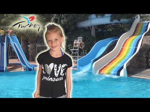ОТДЫХ В ТУРЦИИ / Обеды в отеле Fun & Sun Club Saphire/ Катя учится плавать