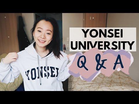 Yonsei University Q&A (Exchange Student)   Joyce Chun