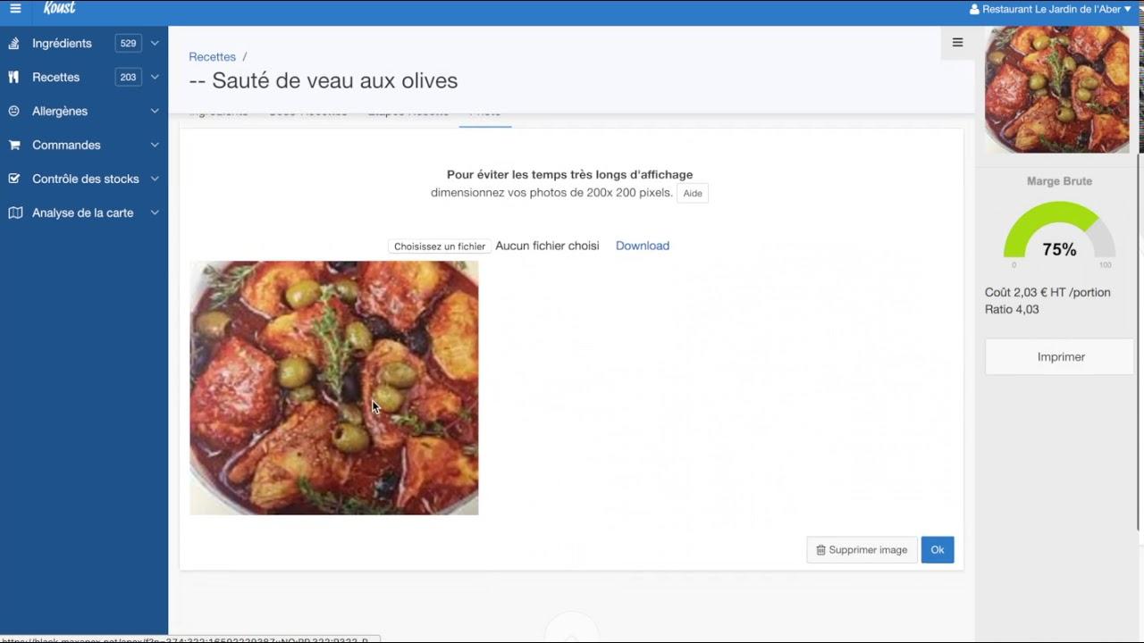 Application Recette Cuisine Youtube