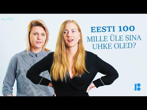 Eesti 100 - Mille üle Sina uhkust tunned?